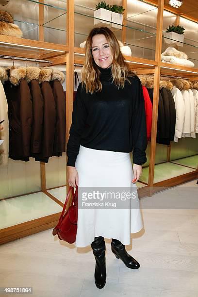 Alexandra Neldel attends the Woolrich Store Opening on November 25 2015 in Berlin Germany