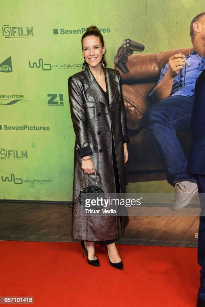 Alexandra Neldel during the premiere of the film 'Lommbock' at CineStar on March 23 2017 in Berlin Germany