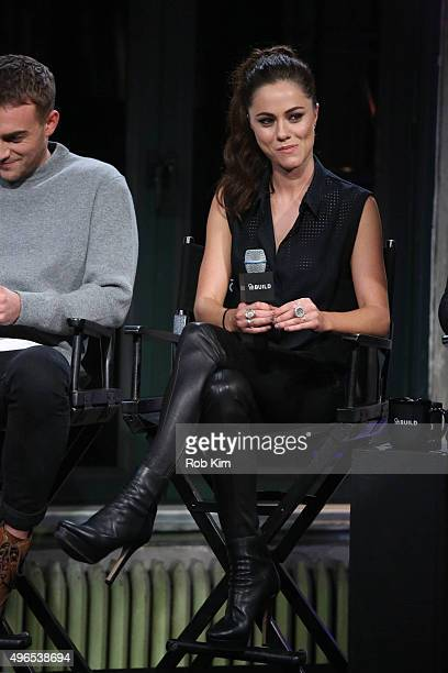 Alexandra Park attends AOL BUILD Presents 'The Royals' at AOL Studios In New York on November 10 2015 in New York City