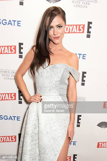 Alexandra Park attends the 'The Royals' UK premiere party at the Mandarin Oriental Hyde Park on March 24 2015 in London England 'The Royals' starts...
