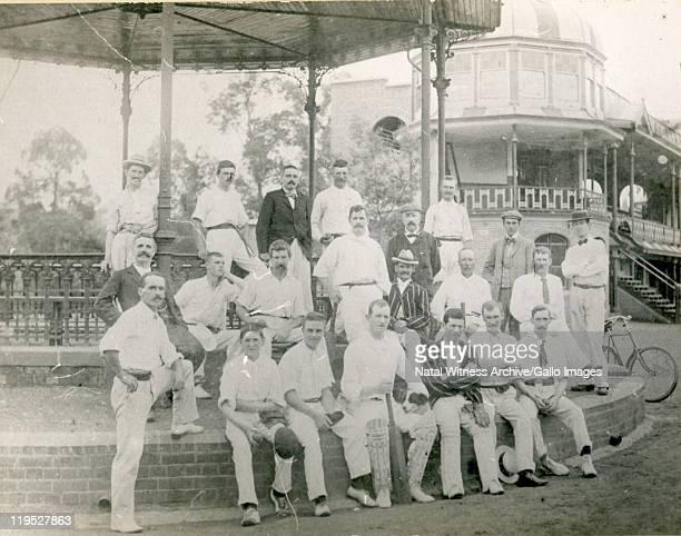 Alexandra Park Cricket team at The Oval