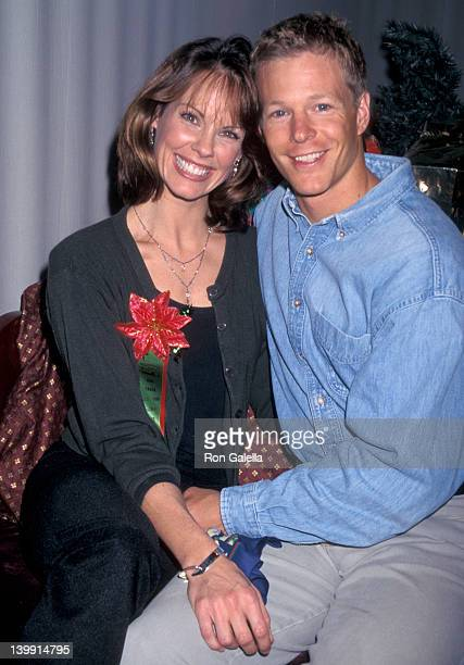 Alexandra Paul and Ian Murray at the Hollywood Christmas Parade KTLA Studios Hollywood