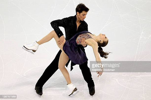Alexandra Paul and Mitchell Islam of Canada compete in the Short Dance during the ISU Four Continents Figure Skating Championships at World Arena on...