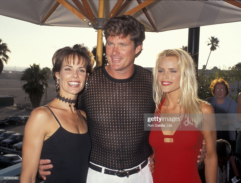 Alexandra Paul, David Hasselhoff and Gena Lee Nolin