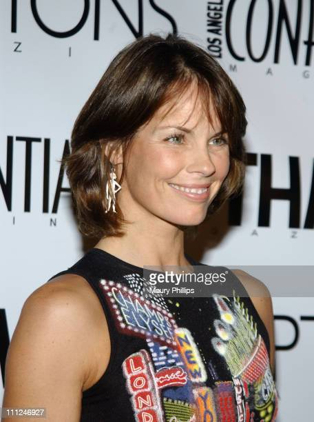 Alexandra Paul during LA Confidential Emmy / Fall Fashion Cover Party at Shelter Supper Club in West Hollywood California United States