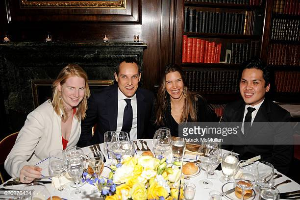 Alexandra Penot Edward Pesch Juliet Longuet and P J Pasqual attend CAROLINE ROWLEY Birthday Terez and Peter Rowley Anniversary Dinner and Party at...