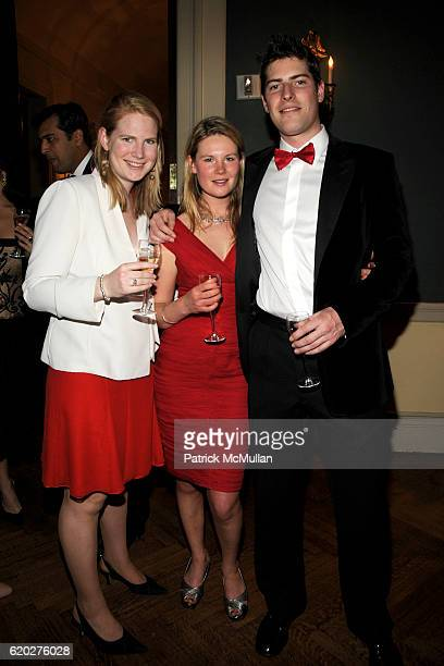 Alexandra Penot Eleanore Kelly and James Sanders attend CAROLINE ROWLEY Birthday Terez and Peter Rowley Anniversary Dinner and Party at Knickerboker...