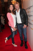 Alexandra Polzin and her husband Gerhard Leinauer attend the BMW Open Players Night at Rilano No 6 on April 28 2014 in Munich Germany