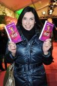 Alexandra Polzin attends 'Cirque Du Soleil' Kooza 2014 Munich Premiere at Theresienwiese on January 31 2014 in Munich Germany