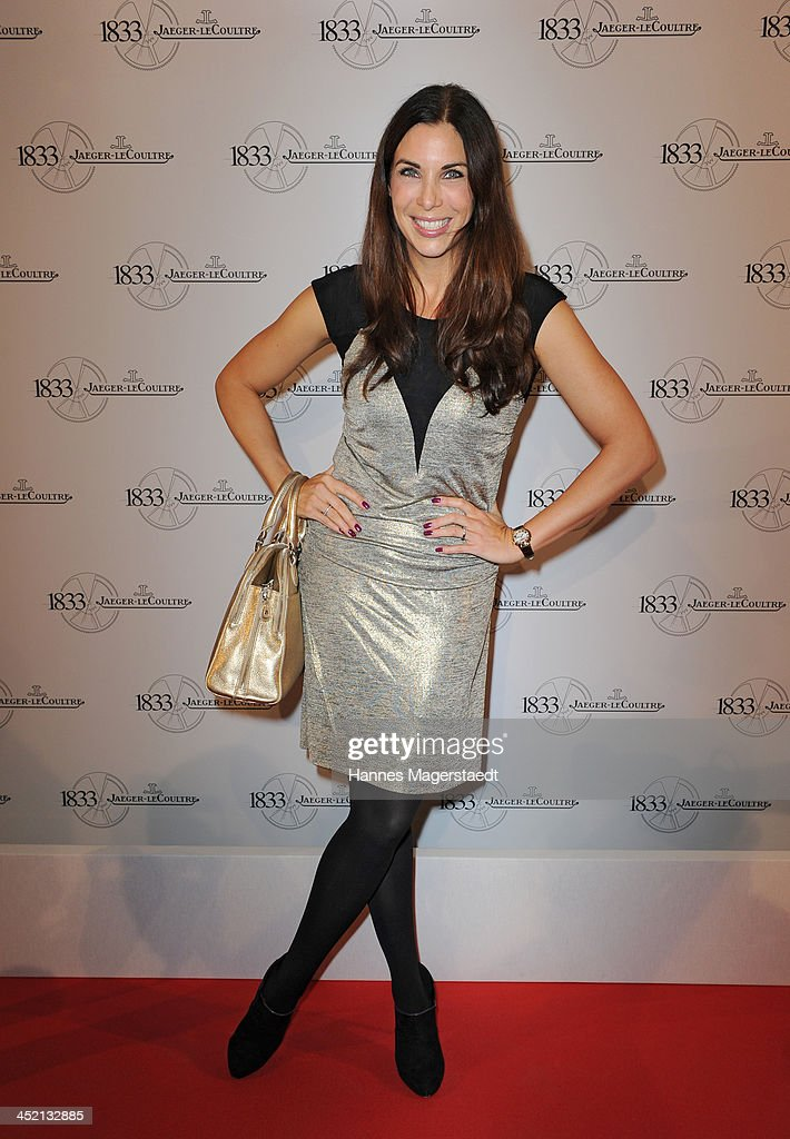 <a gi-track='captionPersonalityLinkClicked' href=/galleries/search?phrase=Alexandra+Polzin&family=editorial&specificpeople=221672 ng-click='$event.stopPropagation()'>Alexandra Polzin</a> attends Jaeger-LeCoultre Cocktail at Charles hotel on November 26, 2013 in Munich, Germany.
