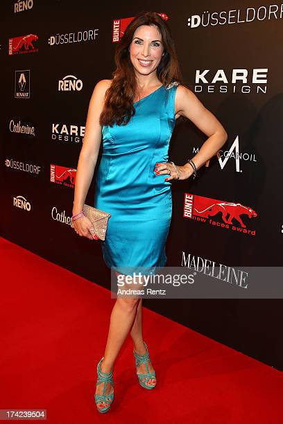 Alexandra Polzin attends KARE Design at the New Faces Award Fashion 2013 at Rheinterrasse on July 22 2013 in Duesseldorf Germany