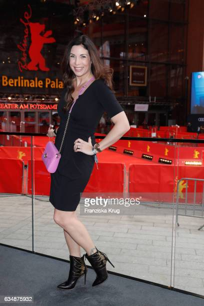Alexandra Polzin attends the Audi Berlinale Brunch during the 67th Berlinale International Film Festival on February 12 2017 in Berlin Germany