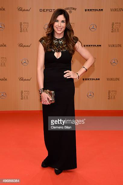 Alexandra Polzin attends the Bambi Awards 2015 at Stage Theater on November 12 2015 in Berlin Germany