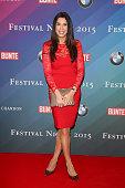 Alexandra Polzin attends the Bunte BMW Festival Night 2015 on February 06 2015 in Berlin Germany