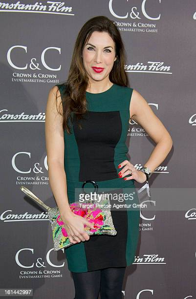 Alexandra Polzin attends the Constantin film reception at Puro Lounge during the 63rd Berlinale International film Festival on February 10 2013 in...
