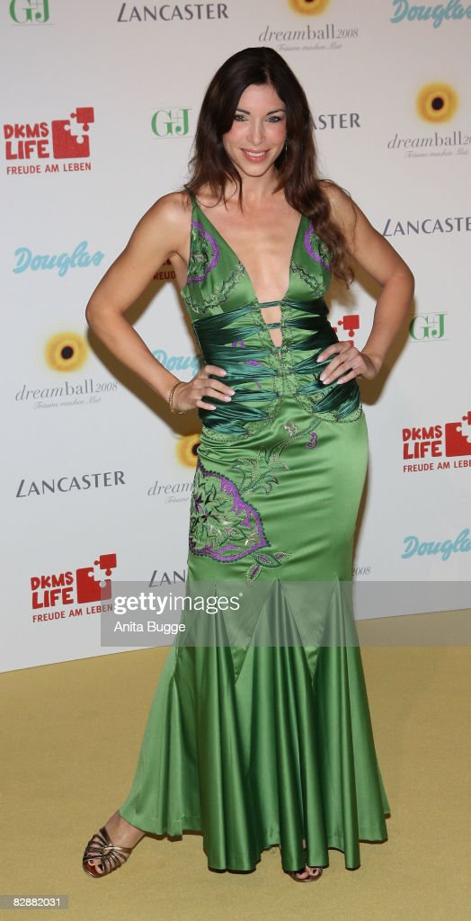 Alexandra Polzin attends the Dreamball 2008 charity gala in the Martin-Gropius Building on September 18, 2008 in Berlin, Germany.