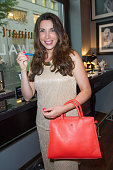Alexandra Polzin attends the Guido Maria Kretschmer and ST dupont product launch at Hotel Marriott on July 8 2014 in Berlin Germany