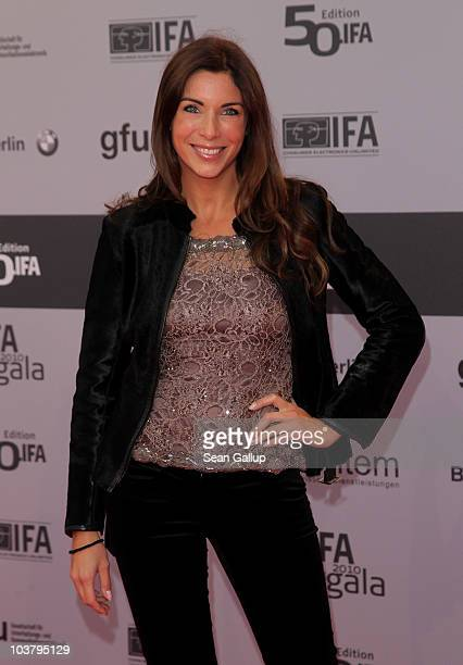 Alexandra Polzin attends the IFA Opening Ceremony at the Palais am Funkturm on September 2 2010 in Berlin Germany