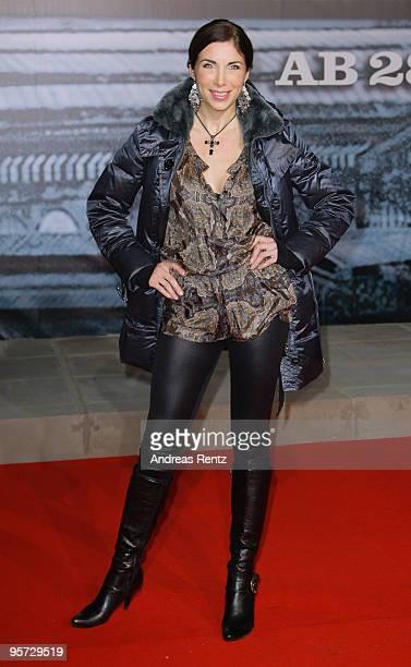 Alexandra Polzin attends the 'Sherlock Holmes' German Premiere at CineStar on January 12 2010 in Berlin Germany