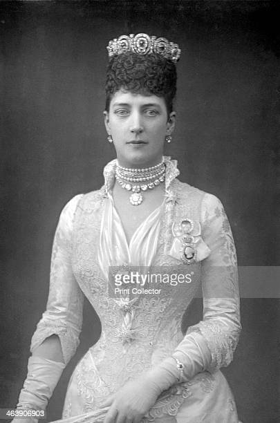Alexandra Queen Consort of King Edward VII of Great Britain when Princess of Wales c1890 The daughter of King Christian IX of Denmark Alexandra...