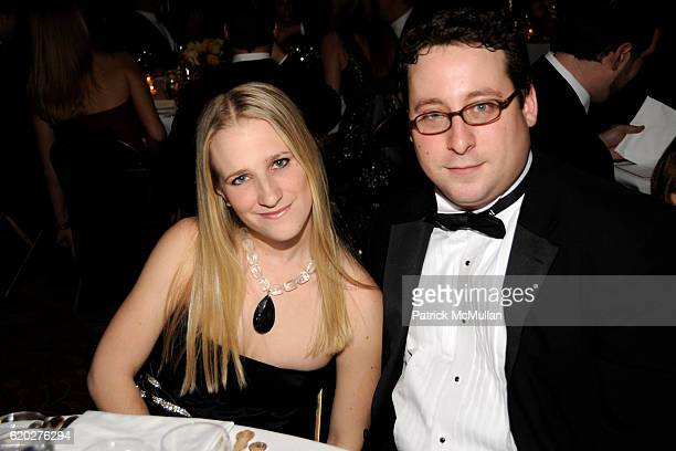 Alexandra Reboul and Scott Oster attend CAROLINE ROWLEY Birthday Terez and Peter Rowley Anniversary Dinner and Party at Knickerboker Club on April 12...