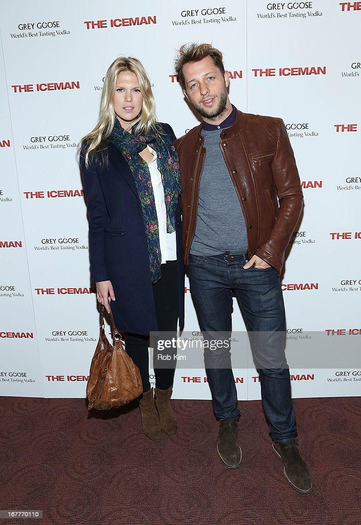 Alexandra Richards and Derek Blasberg attend the 'The Iceman' screening presented by Millennium Entertainment and GREY GOOSE at Chelsea Clearview Cinemas on April 29, 2013 in New York City.