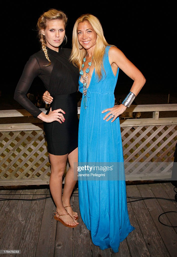 DJ <a gi-track='captionPersonalityLinkClicked' href=/galleries/search?phrase=Alexandra+Richards&family=editorial&specificpeople=213455 ng-click='$event.stopPropagation()'>Alexandra Richards</a> (L) and designer Ramy Brook attend Women's Health Hamptons 'Party Under the Stars' for RUN10 FEED10 at Bridgehampton Tennis and Surf Club on August 3, 2013 in Bridgehampton, New York.