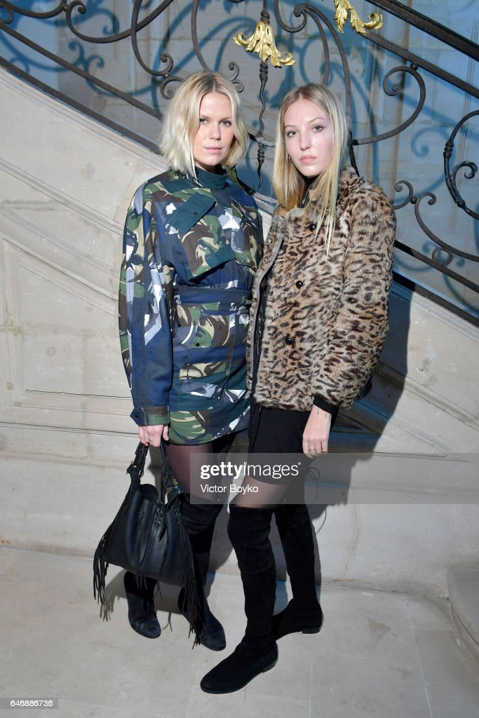 Alexandra Richards and Ella Rose Richards attend Kenzo La Collection Momento N°1 event at Kenzo Headquarters on March 1, 2017 in Paris, France.