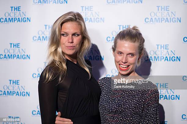 Alexandra Richards and Theodora Richards attend The Ocean Campaign Launch Gala at Capitale on January 20 2015 in New York City