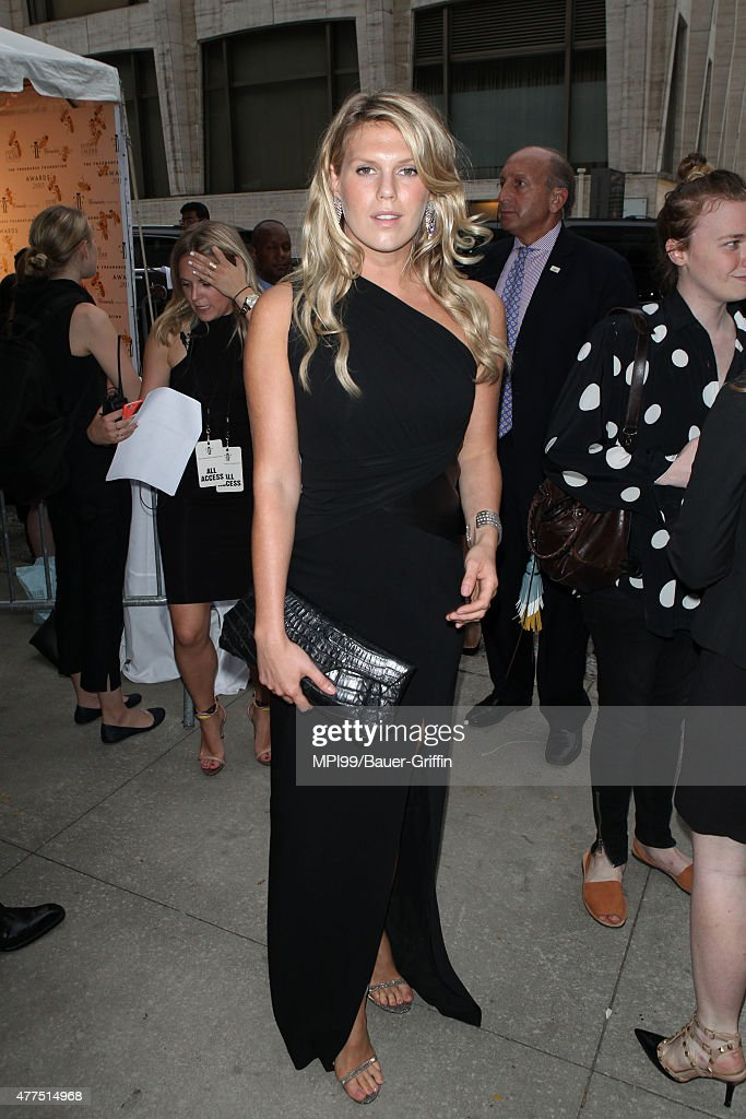 Alexandra Richards arrives to the 2015 Fragrance Foundation Awards at Alice Tully Hall at Lincoln Center on June 17 2015 in New York City