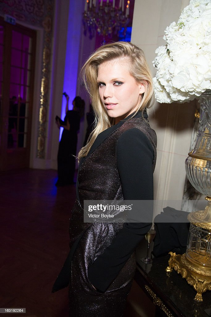 Alexandra Richards attends 'CR Fashion Book Issue 2' - Carine Roitfeld Cocktail as part of Paris Fashion Week at Hotel Shangri-La on March 5, 2013 in Paris, France.