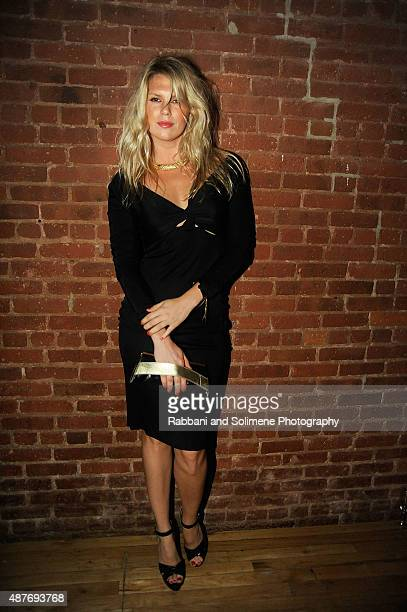 Alexandra Richards attends 'Gloss The Work Of Chris Von Wangenheim' Book Launch Party at The Tunnel on September 10 2015 in New York City