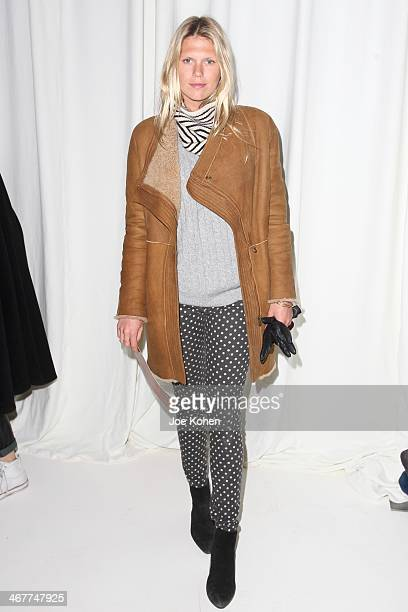 Alexandra Richards attends Novis Presentation durin MercedesBenz Fashion Week Fall 2014 at 404 NYC on February 7 2014 in New York City