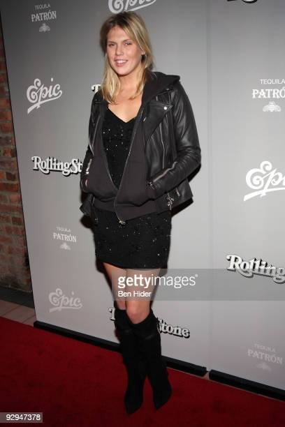 Alexandra Richards attends Shakira's Rolling Stone cover celebration 'She Wolf' album launch party at The Bowery Hotel on November 9 2009 in New York...