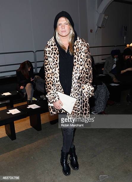 Alexandra Richards attends Sophie Theallet Fashion Show at Pier 59 on February 17 2015 in New York City