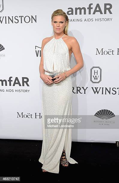 Alexandra Richards attends the 2015 amfAR New York Gala at Cipriani Wall Street on February 11 2015 in New York City
