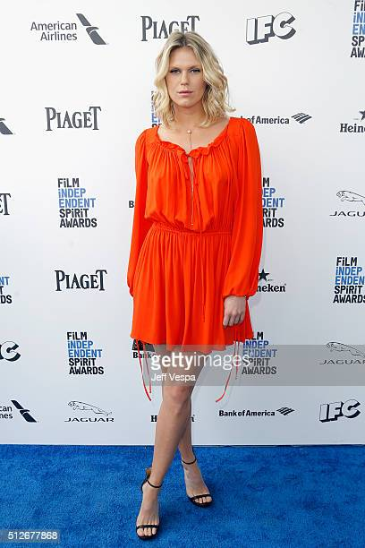 Alexandra Richards attends the 2016 Film Independent Spirit Awards on February 27 2016 in Santa Monica California