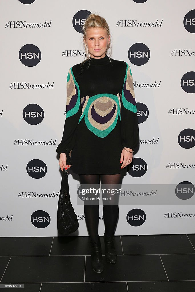 Alexandra Richards attends the celebration of HSN Digital Redesign at Marquee New York on January 16, 2013 in New York City.