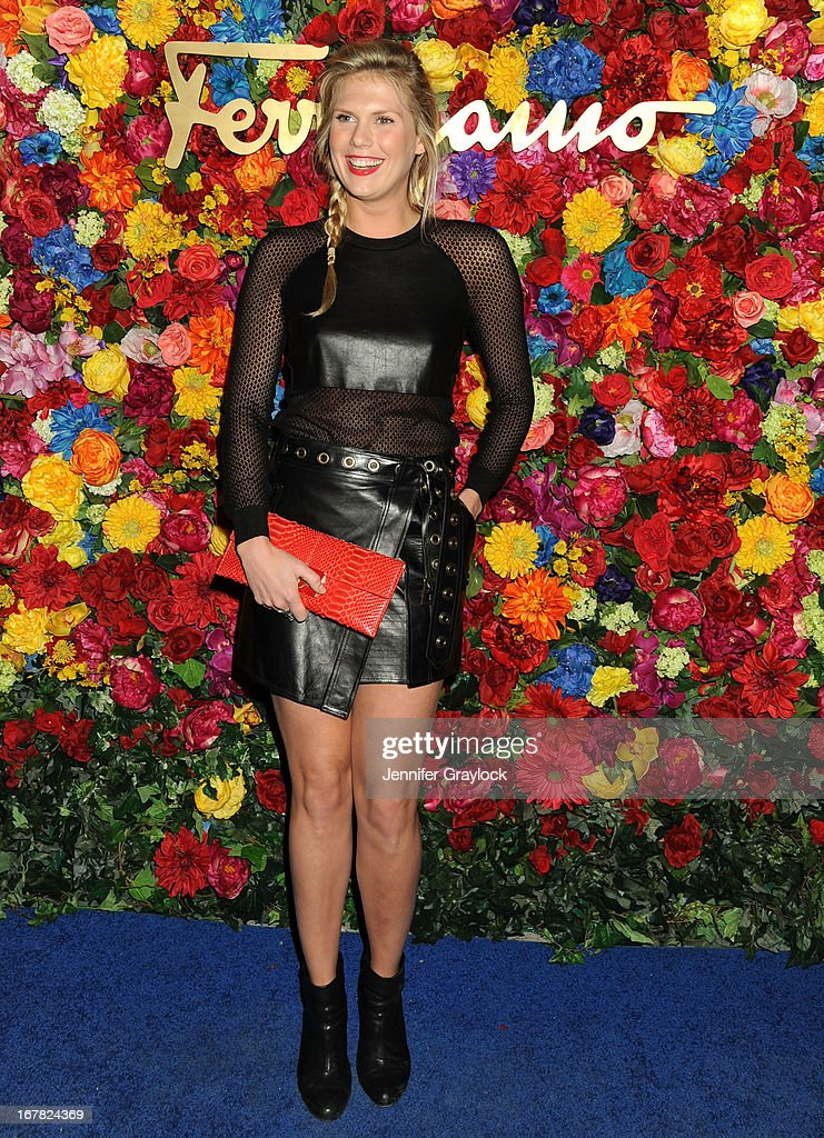 DJ Alexandra Richards attends the Ferragamo Celebrates The Launch Of L'Icona Highlighting The 35th Anniversary Of Vara at The McKittrick Hotel, Home of Sleep No More on April 30, 2013 in New York City.