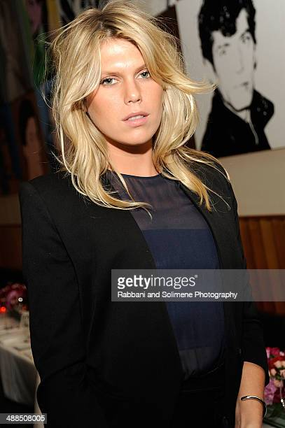Alexandra Richards attends the Ferragamo dinner celebrating the launch of the Fiamma Handbag and Film Series at Casa Lever on May 6 2014 in New York...