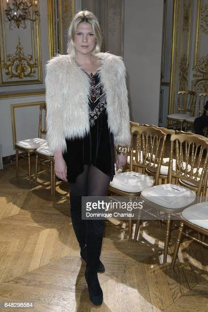 Alexandra Richards attends the John Galliano show as part of the Paris Fashion Week Womenswear Fall/Winter 2017/2018 on March 5 2017 in Paris France