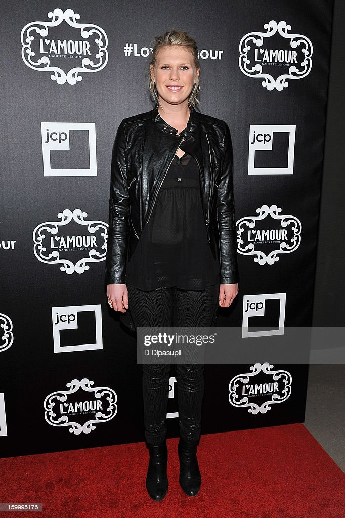 <a gi-track='captionPersonalityLinkClicked' href=/galleries/search?phrase=Alexandra+Richards&family=editorial&specificpeople=213455 ng-click='$event.stopPropagation()'>Alexandra Richards</a> attends the L'Amour By Nanette Lepore For JCP Launch Party at Good Units on January 24, 2013 in New York City.