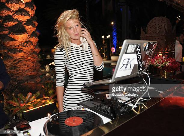 Alexandra Richards attends the Maybach and MOCA celebration of Art Basel Miami Beach at Raleigh Hotel on November 30 2011 in Miami Beach Florida