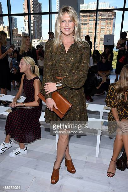 Alexandra Richards attends the Michael Kors Spring 2016 Runway Show during New York Fashion Week The Shows at Spring Studios on September 16 2015 in...