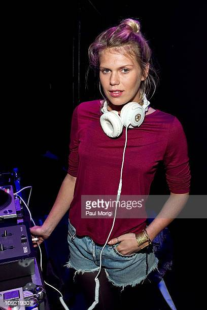 Alexandra Richards attends the Odd Molly presentation fall 2011 during MercedesBenz Fashion Week at The Box at Lincoln Center on February 16 2011 in...