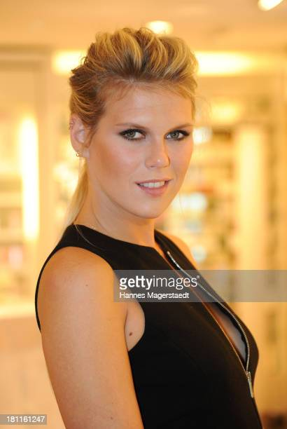Alexandra Richards attends the opening by designer Michael Kors of Fragrance Beauty Corner at Douglas on September 19 2013 in Munich Germany