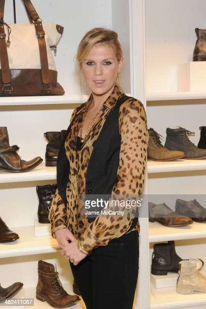 Alexandra Richards attends the Opening Of John Varvatos Madison Avenue on April 3 2014 in New York City
