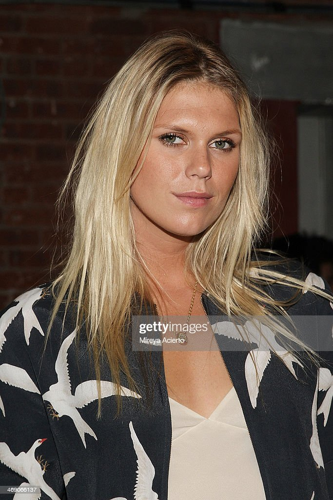 Alexandra RIchards attends the Sass & Bide fashion show during Mercedes-Benz Fashion Week Fall 2014 at The Waterfront on February 12, 2014 in New York City.