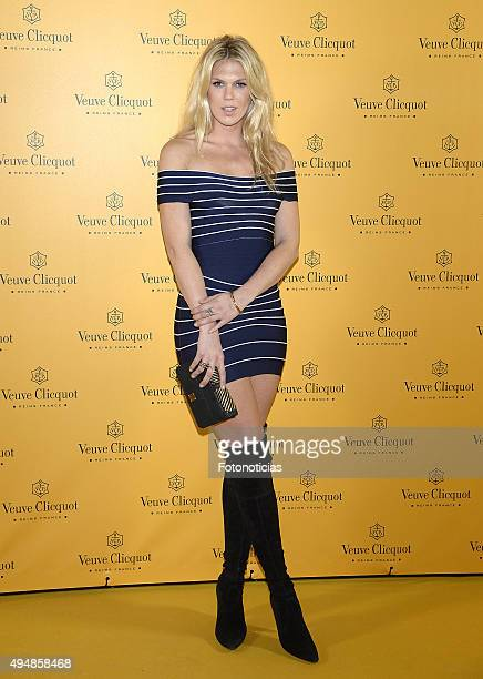 Alexandra Richards attends the Veuve Clicquot Yelloween Party at the Teatro Bodevill on October 29 2015 in Madrid Spain