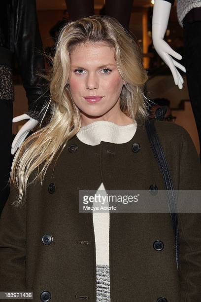 Alexandra Richards attends the Vince Flagship Store on October 9 2013 in New York City